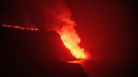 La lava llega al mar tras arrasar cerca de 600 viviendas y dejar más de 6.200 evacuados