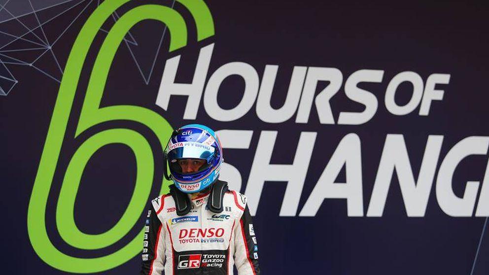 El desgaste físico y mental de Fernando Alonso después de 26 pruebas en 2018