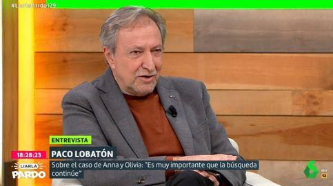 Paco Lobatón habla en el programa de Cristina Pardo sobre el caso de Anna y Olivia
