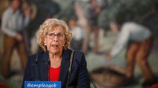 La 'polisaria' Carmena se rinde a los encantos de Mohamed VI