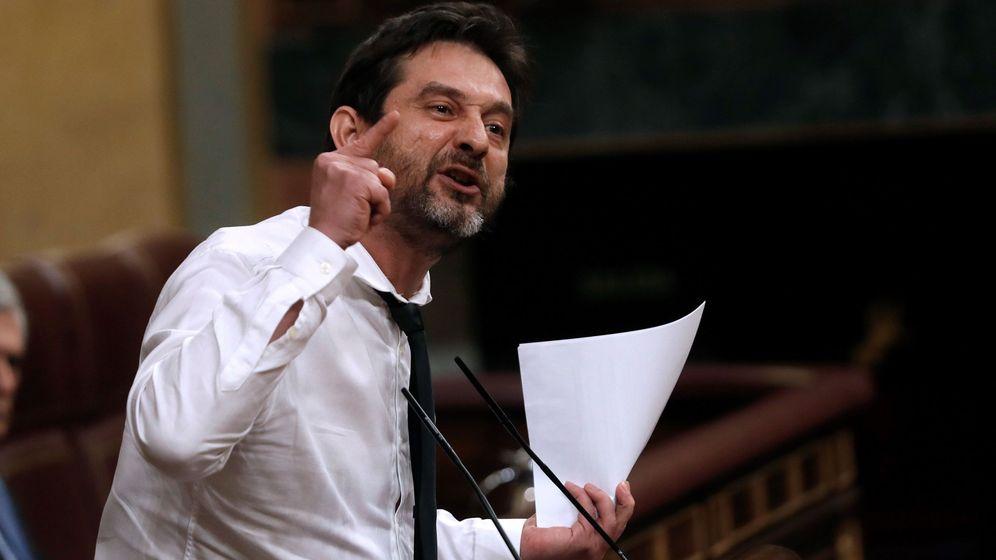 Foto: El diputado de Unidas Podemos Rafa Mayoral (EFE)