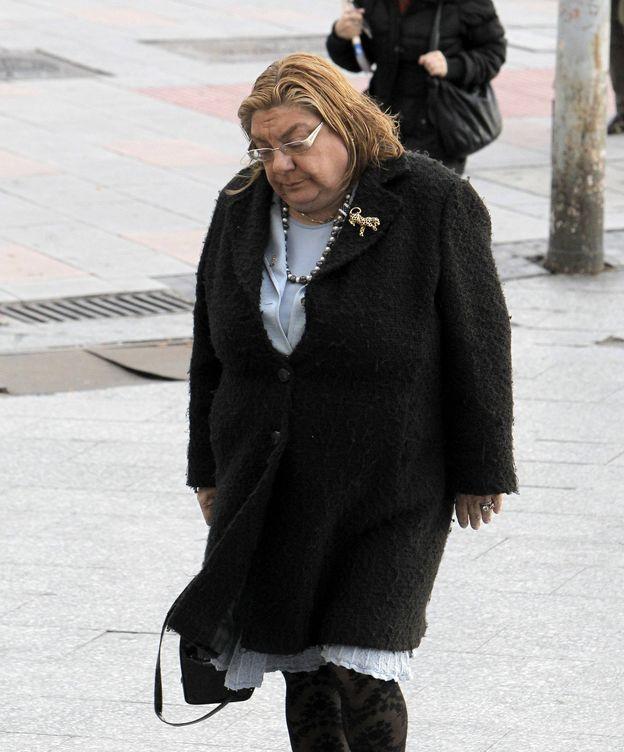Foto: La juez de Madrid Coro Cillán, a su llegada a los juzgados de la Plaza de Castilla. (EFE)