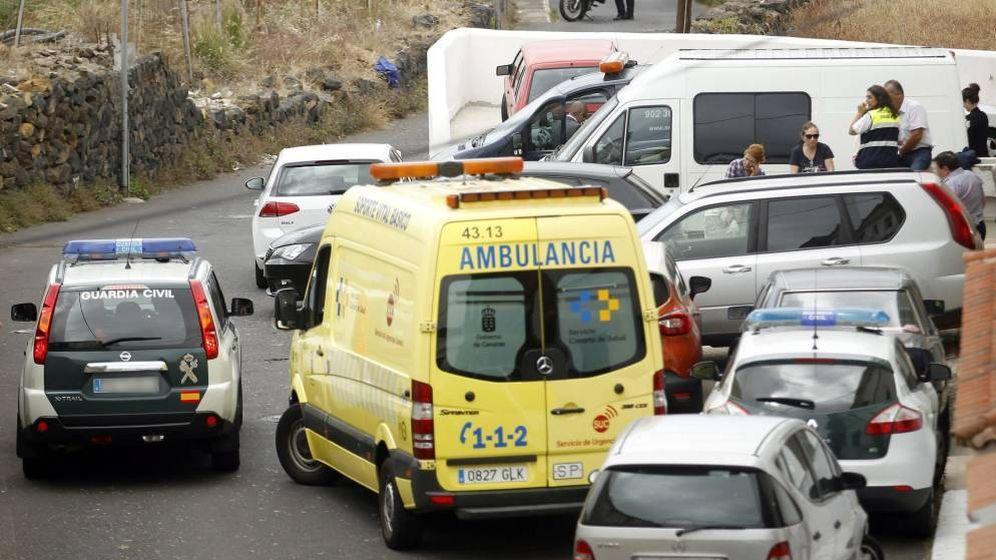 Foto: Una ambulancia.
