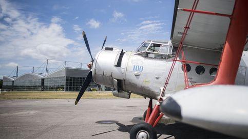 Muestra de aviones históricos
