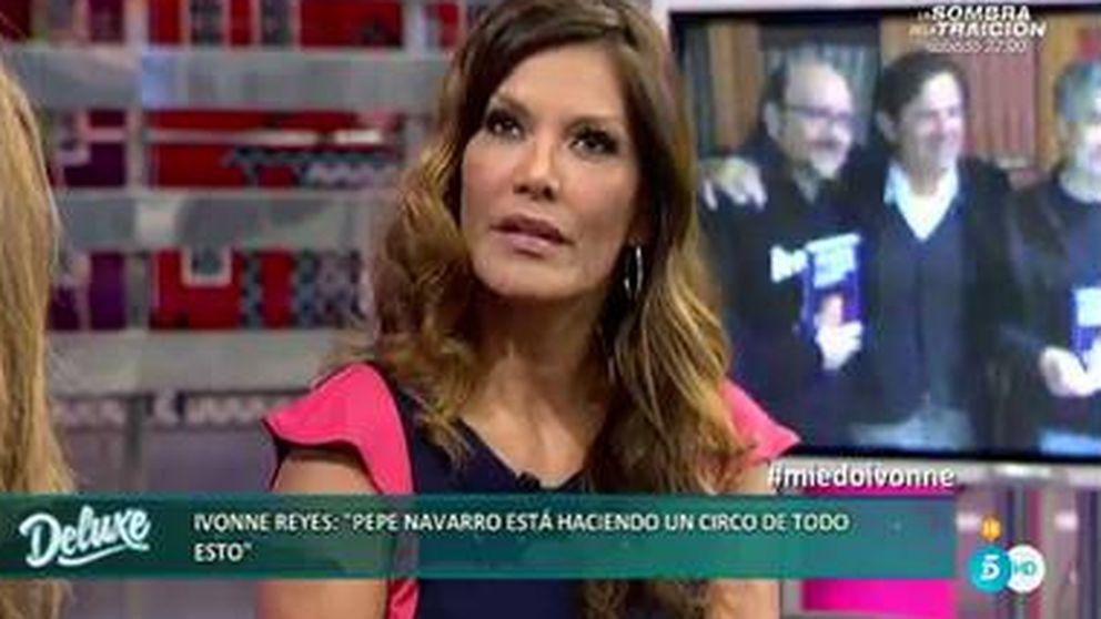 Ivonne Reyes asegura que Pepe Navarro le pidió un montaje con su hijo