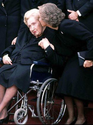"""Foto: González de Vega: """"Afirmo rotundamente que no existió una mala relación entre la Reina y su suegra"""""""
