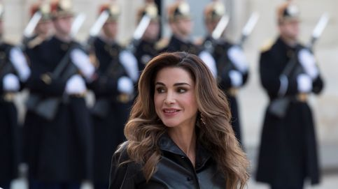 El sospechoso rostro de Rania de Jordania eclipsa sus imágenes más emotivas