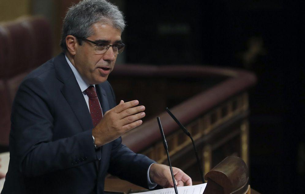 Foto: El portavoz de PDECat en el Congreso, Francesc Homs (Efe).