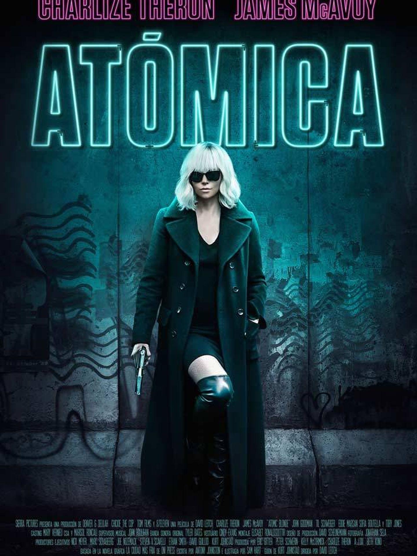 Cartel de 'Atómica'