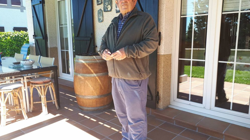 Foto: Jose Ignacio Valencia, alcalde en funciones de Muruzabal. (J. M. A.)