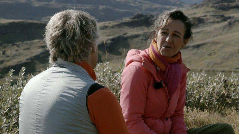 Foto: Ana Botín y Jesús Calleja, en 'Planeta Calleja'. (Mediaset)