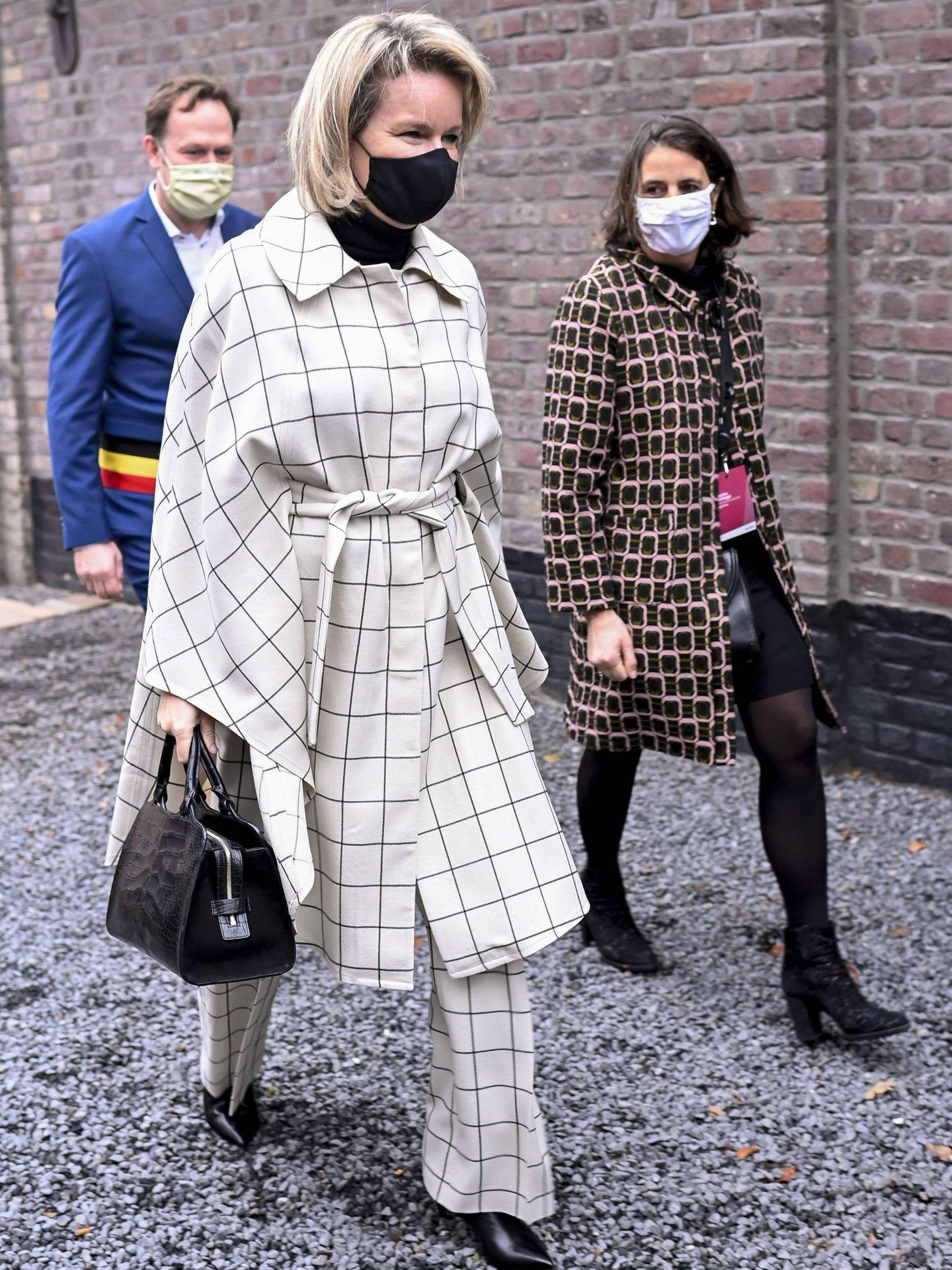 La reina Matilde, en un acto el pasado diciembre. (Cordon Press)