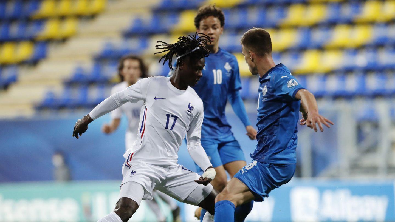 Camavinga, con la selección. (Reuters)