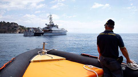 Detenidos tres españoles que transportaban 60 M en hachís cerca de Sicilia