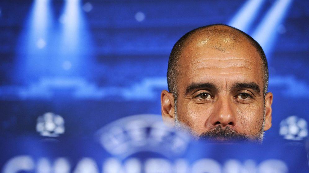 Foto: Pep Guardiola, técnico del Bayern (Efe)