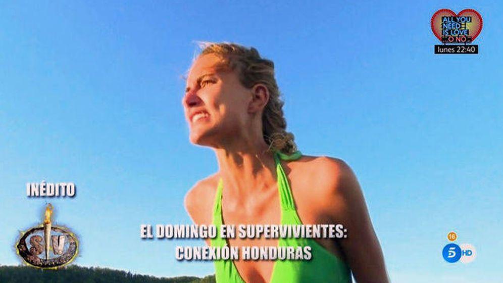 Foto: Alba Carrillo en 'Supervivientes'.