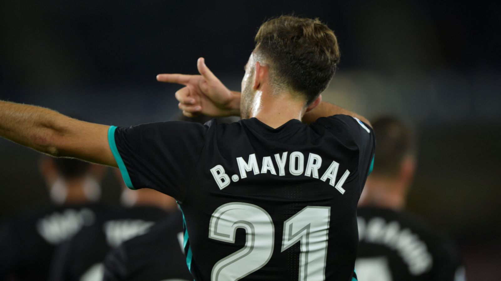 Foto: Mayoral marcó su primer gol oficial en Anoeta. (Reuters)
