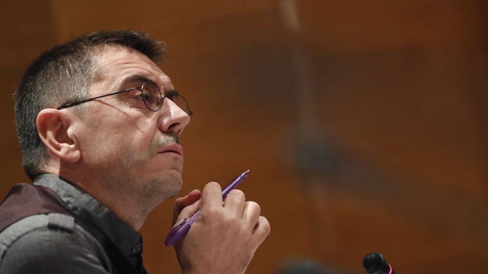 Foto: El cofundador de Podemos Juan Carlos Monedero, en una imagen de archivo. (EFE)