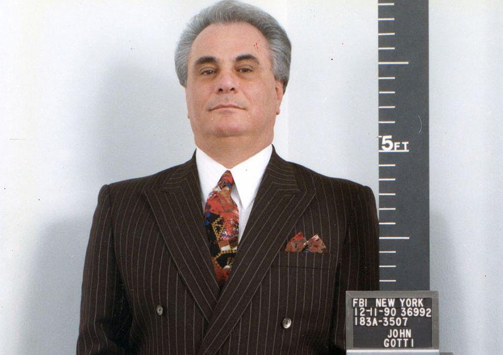 Foto: John Gotti consiguió escabullirse de las acusaciones de la policía y el FBI hasta que fue finalmente encarcelado durante los años 90.