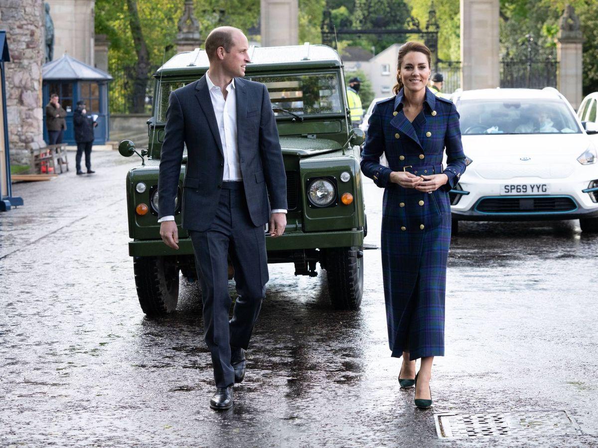 Foto: Los duques de Cambridge, en el estreno de 'Cruella'. (Palacio de Kensington)
