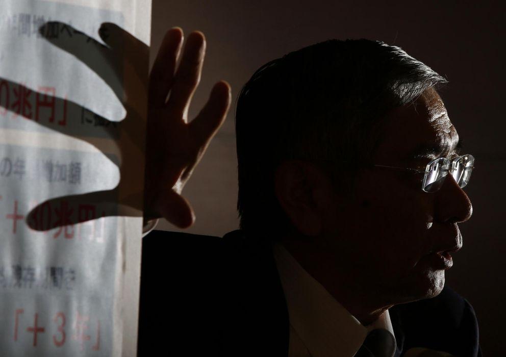 Foto: Gobernador del Banco de Japón, Haruhiko Kuroda
