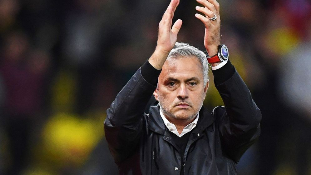 Foto: Mourinho, despedido del manchester united. (EFE)