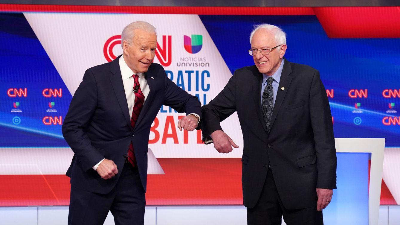 Biden aumenta la ventaja frente a Sanders tras su victoria en Illinois, Florida y Arizona