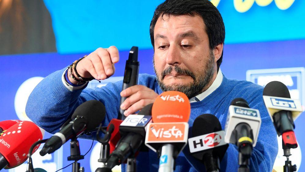 Foto: El líder de la Liga, Matteo Salvini. (Reuters)