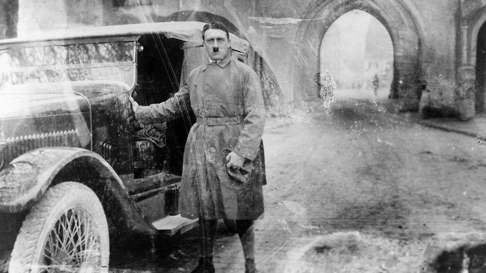 Foto: Adolf Hitler acabó sus vacaciones en Landsberg en diciembre de 1924.