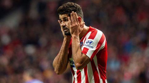 La caída de Diego Costa y el dolor de Simeone