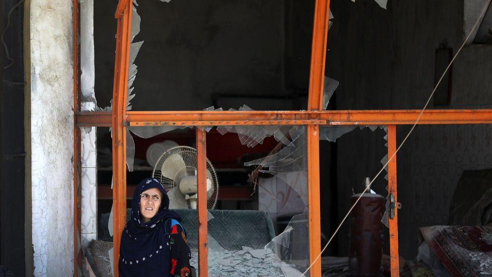Foto: Atentado con bomba en Kabul, Afganistán. (EFE)
