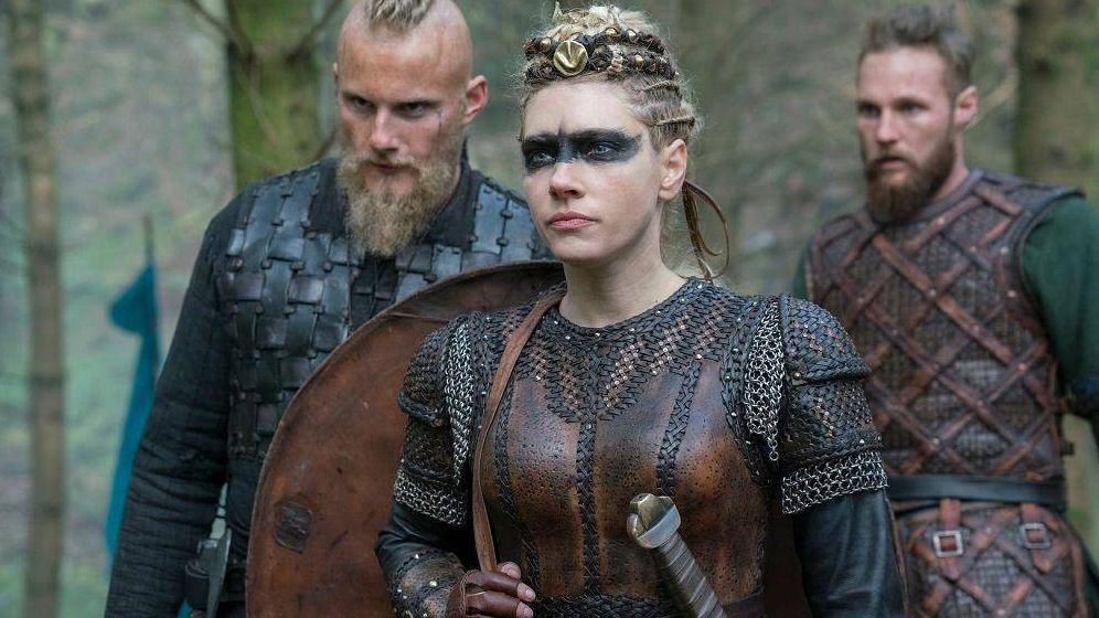 Foto: Imagen de la quinta temporada de 'Vikingos'. (History Channel)