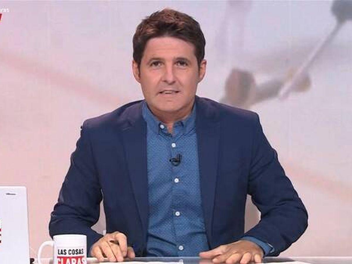Foto: Cintora en 'Las cosas claras'. (RTVE)