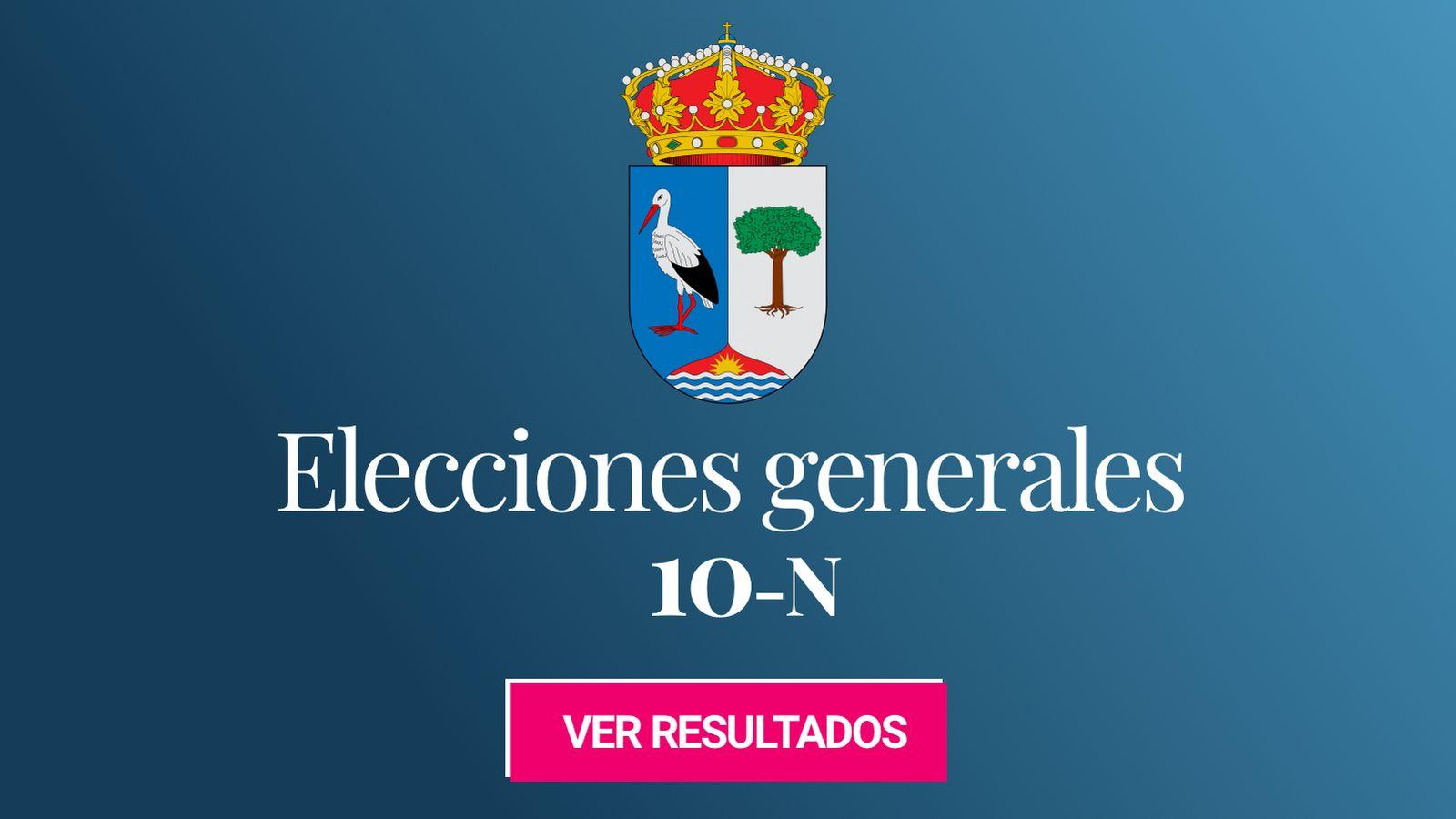 Foto: Elecciones generales 2019 en Las Rozas de Madrid. (C.C./EC)