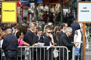 Air France tendrá que pagar como mínimo 300.000 euros de indemnización por pasajero