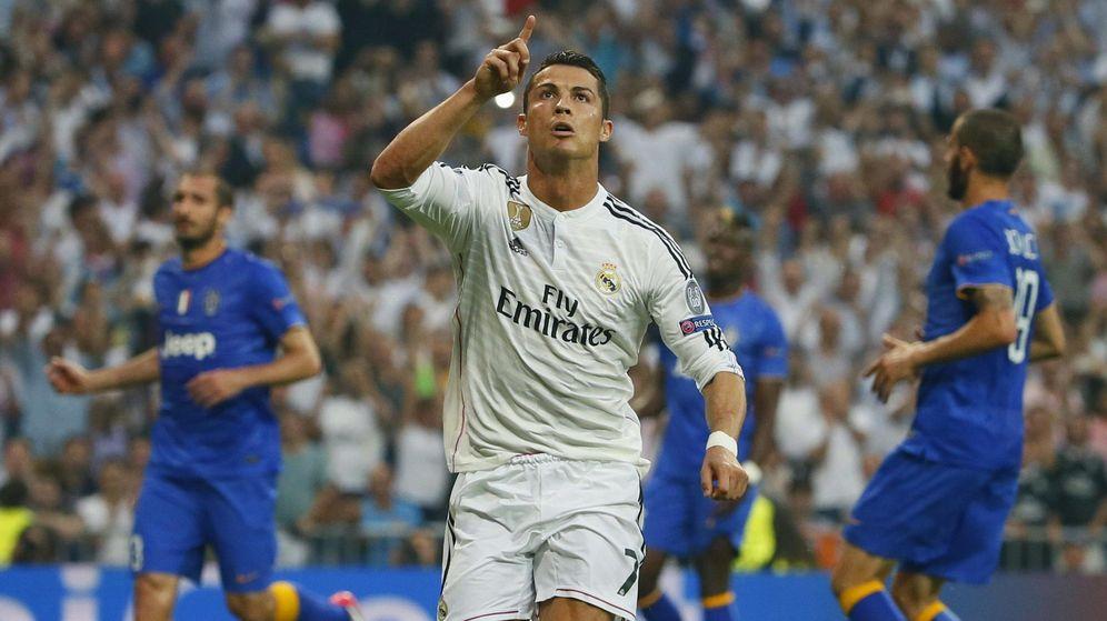 Foto: Cristiano Ronaldo celebra un gol frente a la Juventus en el Santiago Bernabéu. (EFE)