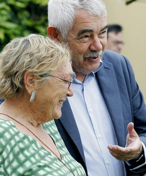 Foto: Maragall y Garrigosa, en una imagen de archivo. (EFE)