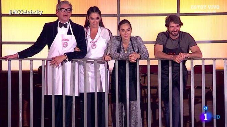 'MasterChef Celebrity 4' proclamó a sus finalistas con un disgusto para el público
