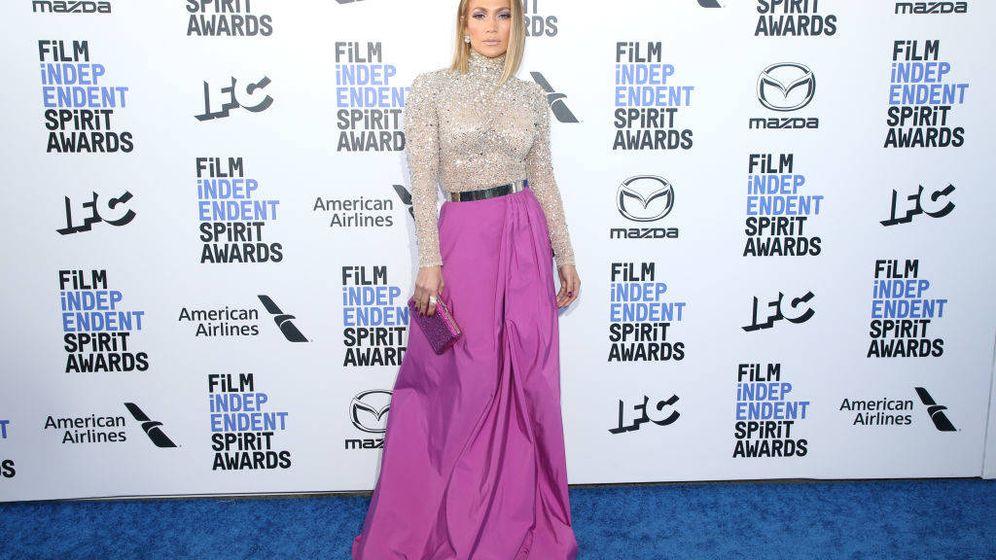 Foto: Jennifer Lopez en los Film Independent Spirit Awards 2020 (Getty)