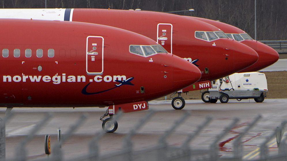 Foto: Aviones de Norwegian Air. (Reuters)