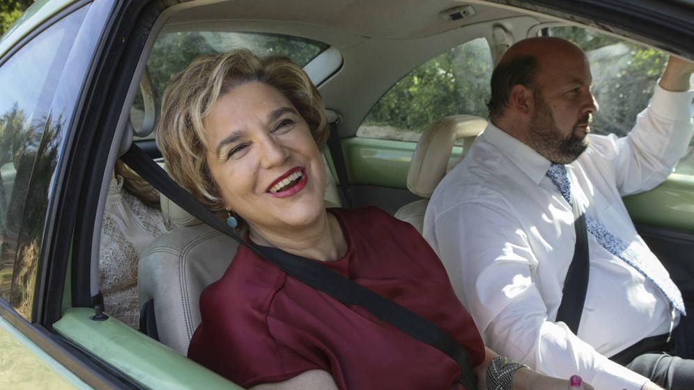 Foto: Pilar Rahola y su marido, Roberto Cerdán, en una imagen de archivo. (Gtres)