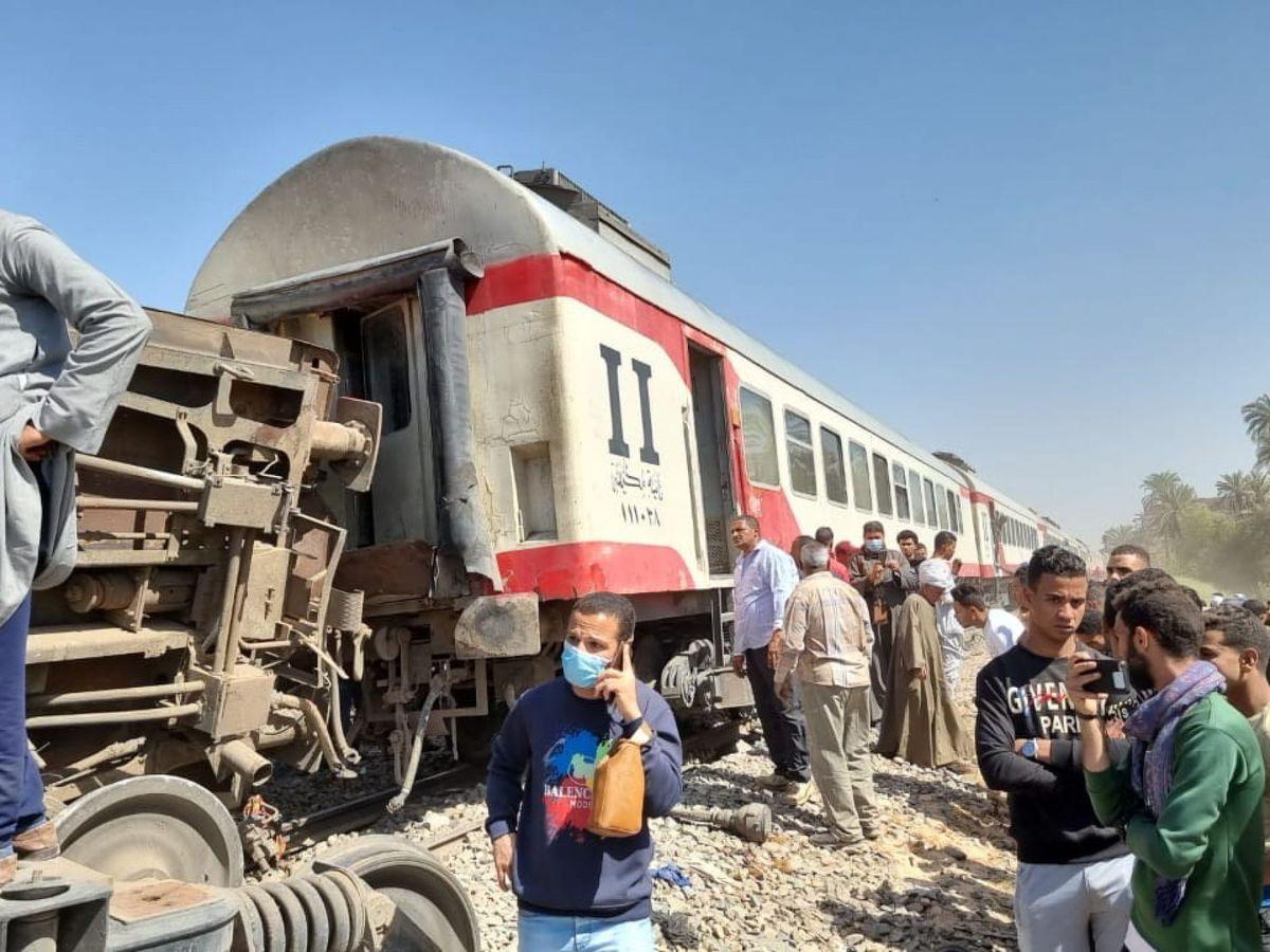 Foto: Los accidentes de tren en Egipto se repiten con demasiada frecuencia (EFE EPA)