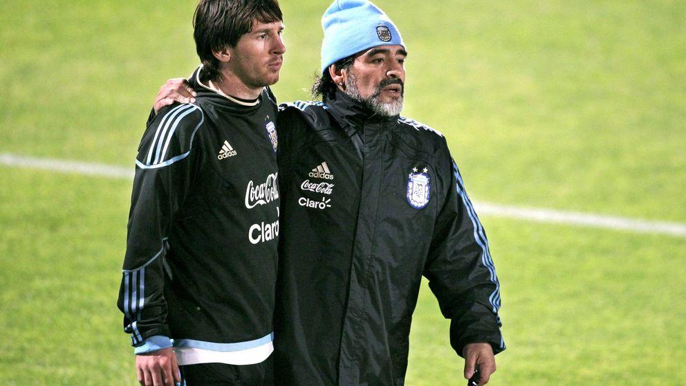 Leo Messi y su gran día para cerrarle la boca de una vez al lenguaraz Maradona