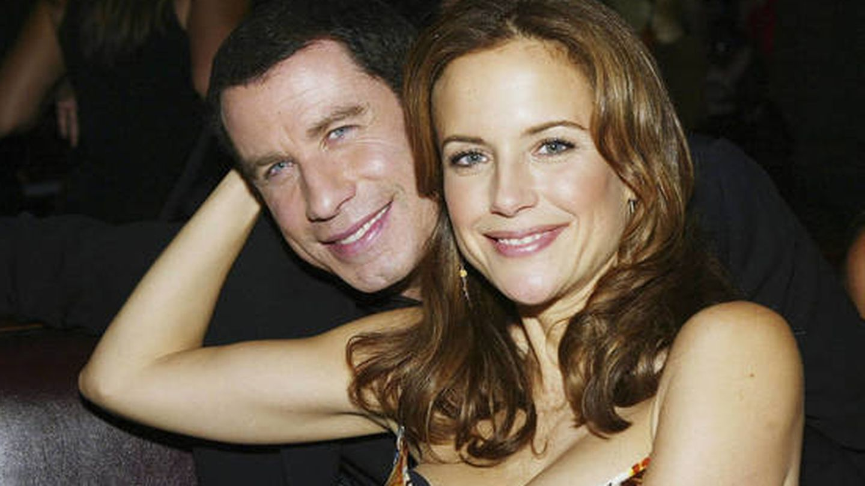John Travolta y Kelly Preston. (Getty)