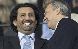 El jeque Al-Thani pide la dimisión de Platini como presidente UEFA