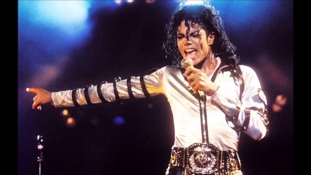 Foto: Michael Jackson se sirvió de playback en la gira de 'Bad'.