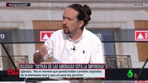 Es muy grave que digas eso: Pablo Iglesias se planta ante Ferreras en 'Al rojo vivo' (La Sexta)