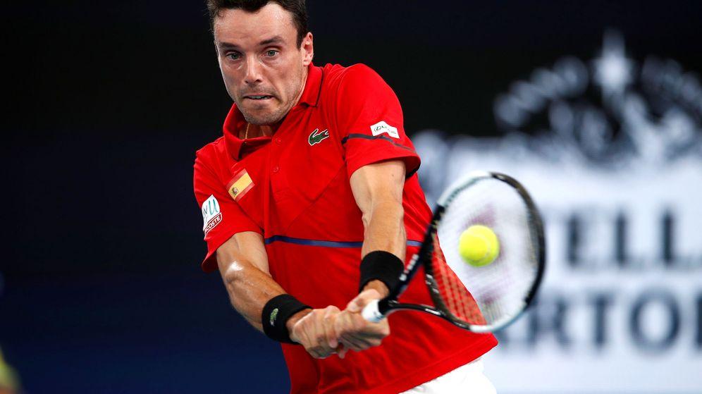 Foto: Roberto Bautista ha ganado todos sus partidos en la ATP Cup. (Reuters)