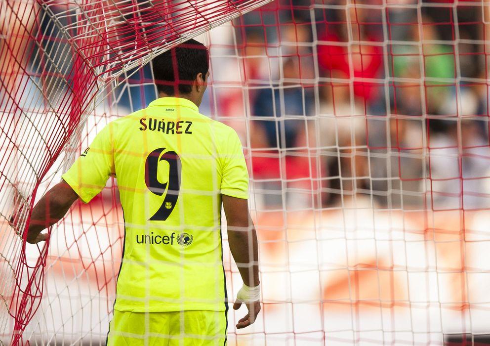 Foto: Los números de Luis Suárez no son los esperados (AP)