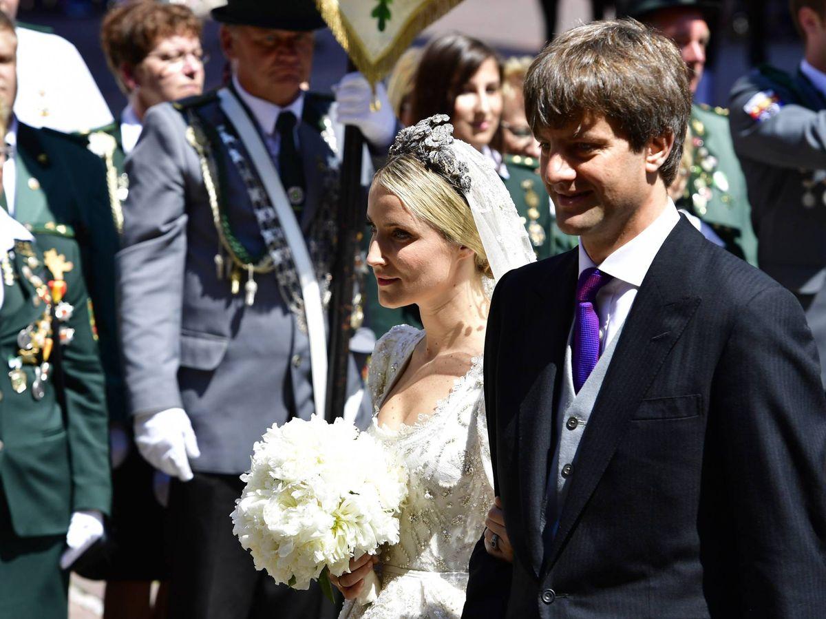 Foto: Ernesto de Hannover Jr., el día de su boda con Ekaterina Malysheva. (Getty)